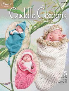Crochet - Patterns for Children & Babies - Cocoon Patterns - Cuddle Cocoons - Crochet Baby Cocoon Patterns