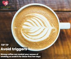 Tip to quit smoking - avoid triggers. Get more of our top tips to quit smoking www.thefilterwales.org