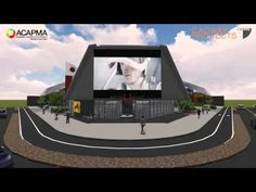 Future service station, gas station, convenience store - YouTube
