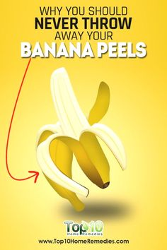 Bananas are probably one of the most common fruits found across the world, and many people enjoy eating a banana for breakfast. Eating a banana is good for your health, as this fruit is a superfood… For Your Health, Health And Wellness, Health Tips, Health Care, Banana Peel Uses, L Tyrosine, Kidney Cancer, Shocking Facts, Beauty Tips