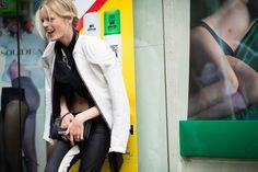 Paris Haute Couture Fall 2013 Street Style: Day 3. Photo by Adam Katz Sinding