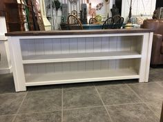 Custom Console Table/TV Stand/Bookshelf