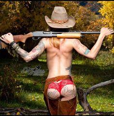 bareback and shotgun