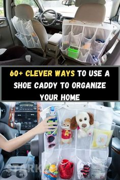 If you love shoes, there's a good chance you have a caddy. After all, you can only store so much footwear in the closet and under the bed before you run out of space. But did you know there are a lot of other ways to benefit from a shoe caddy? As you're about to discover, this simple product can help you get and stay organized. If you're tired of the clutter in your house, you'll appreciate these 60-plus clever ideas.