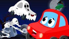 Halloween night | Scary Rhyme | Funny Scary Halloween Video | Cars Rhyme... #rhymes #nurseryrhymes #videosforkids #kidsvideos #kids #children #babyvideos #halloween #halloweenvideos #halloweenrhymes