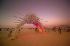 The Jack Rabbit Speaks Scenes from Burning Man, shot by Trey Ratcliff