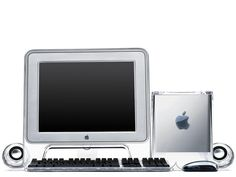 "Power Macintosh G4 Cube with 15"" Studio Display"
