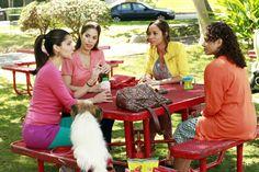 Roselyn Sanchez, Ana Ortiz, Dania Ramirez, Judy Reyes dans Devious Maids