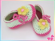 Ballerinas, Baby Kind, Baby Shoes, Kids, Clothes, Fashion, Flower Crochet, Threading, Diy