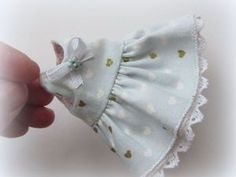 Шьем крохотное двустороннее платьице для куколки   Ярмарка Мастеров - ручная работа, handmade