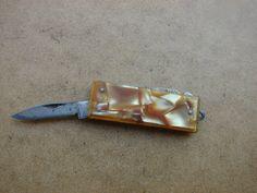 Винтаж Советский Специальный выпуск Сувенирная карманный нож с Luckytage
