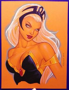 Female Stars Of Comics - comicbookwomen:   Storm-Conny Valentina