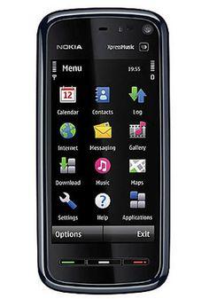 10. Nokia 5800 XpressMusic. Primer móvil táctil que tuve. Llevaba Symbian. La pantalla era resistiva y no respondía muy suavemente al tacto. Tenía cámara de 3 mpx.