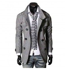 Men's Fashion Outerwear | European Style Outerwear For Men (3) - leatherandcotton