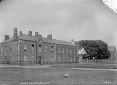"""Convent and school, Baldoyle Published / Created: [between 1930-1950]. In collection: Valentine Photographic Collection Subjects: """"...Convents -- Ireland -- Baldoyle -- 1930-1950 -- lctgm..."""""""