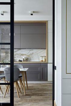 Home Interior Design And Makeover Tips – BusyAtHome Best Kitchen Designs, Modern Kitchen Design, Interior Design Kitchen, Interior Decorating, Kitchen Ideas, Color Interior, Interior Ideas, Door Design, House Design