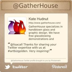 @GatherHouse's Twitter profile courtesy of @Pinstamatic (http://pinstamatic.com)
