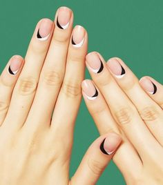 Nail art has a reputation for being ultra-bold and graphic, but these minimalist nail art ideas prove to the contrary. Click here for 14 stunning options.