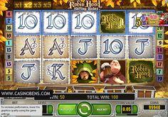 Jouer avec cette superbe machine à sous 20 lignes Robin Hood, et entrez dans l'univers de Robin des Bois, et aidez-le à poursuivre son combat : voler les riches pour donner aux pauvres !  http://www.casinobens.com/machines-a-sous-20-lignes-robin-hood.php