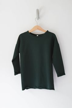 Sweater by Mingo in a beautiful dark green color