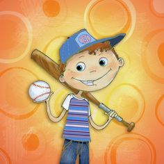 .......for our grandson Justin who likes baseball and is sooooo much like his dad