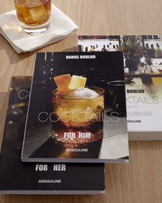 """""""Cocktails & Tapas"""" Book Set by Assouline Publishing at Bergdorf Goodman."""