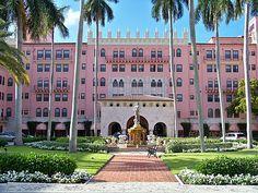 Boca Raton Florida The Pink Hotel