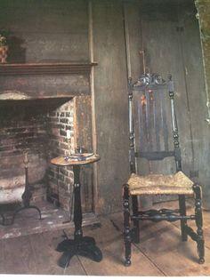 Conant tavern, master bedroom. Wonderful paint decoration!