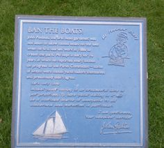 Ban the boats near the lake in South Marine park, South Shields.