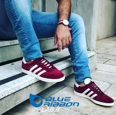 Adidas Gazelle Burgundy Sneakers, Adidas Gazelle, Grey And White, Trainers, Adidas Sneakers, Shoes, Fashion, Tennis, Moda