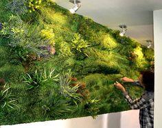 "AuE Paisagismo: Jardín vertical sintético ""Muros Frescos"""