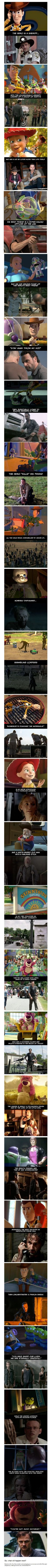 """Proof That """"The Walking Dead"""" and """"Toy Story"""" Have the Same Plot 