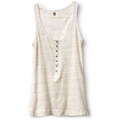 Qsw Pacific Marled Tank (1975 DZD) ❤ liked on Polyvore featuring tops, shirts, tank tops, tanks, cotton jersey, quiksilver shirt, white tank, cotton tank and cotton shirts