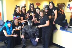 Throwback Thursday, Halloween edition! Check out Dr. William Traynor as Spiderman and the rest of the McAllen staff as cats!