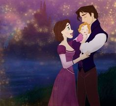 these are so cute!  Disney Family Portraits - DeviantART User Grodansnagel Illustrates the Kin of Classic Cartoons (GALLERY)