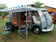 VW camper. This is perfect.