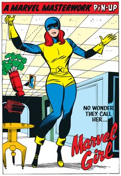 The Marvel Project: Marvel Girl Pin-Up