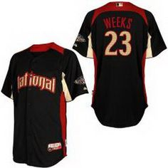 ... Brewers 2 Nyjer Morgan White (blue strip) Embroidered MLB  Jersey!21.50USD Cheap ...