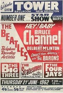 Bruce Channel, Hey Baby, Delbert McClinton, The Beatles, Brook Benton Beatles Poster, Beatles Songs, The Beatles, Baby Posters, Rock Posters, Music Posters, Theatre Posters, Type Posters, Radios