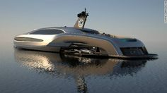 Now I know what I'm going to do with my next $135,000,000. And this car even comes with its own yacht. Perfect.
