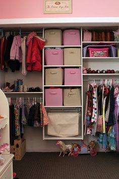Four Flights Of Fancy: A Great Idea For The Girlu0027s Closet.