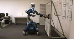 The next time you're stuck washing windows, know that a robot might do it better. #robot #home #application #technology