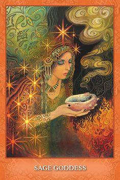 U.S. Games Systems, Inc. > Tarot & Inspiration > Mystic Sisters Oracle Deck Wiccan Witch, Magick, Pagan, Tarot Card Decks, Tarot Cards, Spray Paint Frames, Mother Goddess, Divine Goddess, Ouvrages D'art