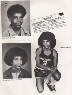 Prince yearbook photos