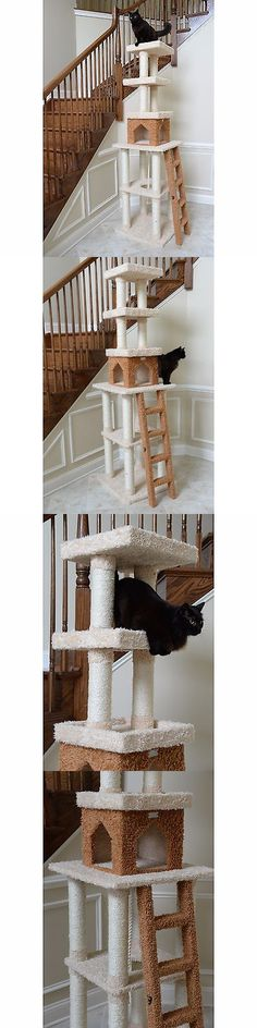 Cat Lover Products 117422: Cat Tree Tower Kitty Trees Condo Scratch Scratching Posts For Cats Furniture Toy -> BUY IT NOW ONLY: $207.95 on eBay!
