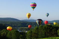 Hot Air Festival Quechee, VT