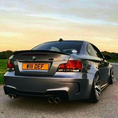 BMW E82 1M coupe grey