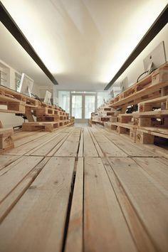 Pallet office 2 - Modern Interior Design & Furniture - Decoist