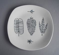 Midwinter Pottery 'Nature Study' 1955 designed by Terence Conran