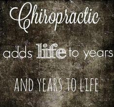 La #chiropratica aggiunge vitalità alla vita e vita alla vitalità. #chiropratica_pescara  #chiropractor #chiropractic #art #DrTimKelly #Atlanta #health #wellness